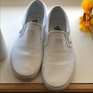 White Van Slip On